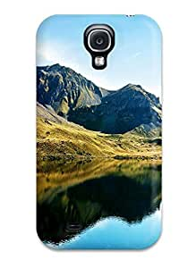 CaseyKBrown Case Cover Protector Specially Made For Galaxy S4 Swiss Alps Lake