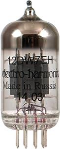 Electro-Harmonix 12DW7 Preamp Vacuum Tube, Single