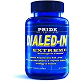 Best Fat Burner - Dialed-In 60 Pills- Natural Thermogenic Metabolism Booster Supplement for Weight Loss