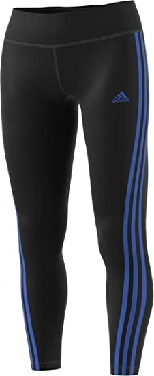 new style 38294 feac8 adidas Women s D2M RR 3-Stripe Legging (Black Blue, X-Small