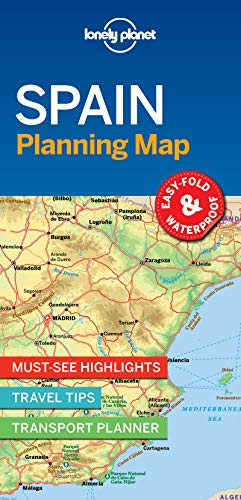 (Lonely Planet Spain Planning Map)