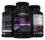 Neuro Prime Brain Booster Supplement - Memory, Focus, Alertness, Clarity & Concentration - Mental Performance Nootropic - Ginkgo Biloba, St. Johns Wort, DMAE, L-Carnitine, Bacopa Monnieri Extract Larger Image