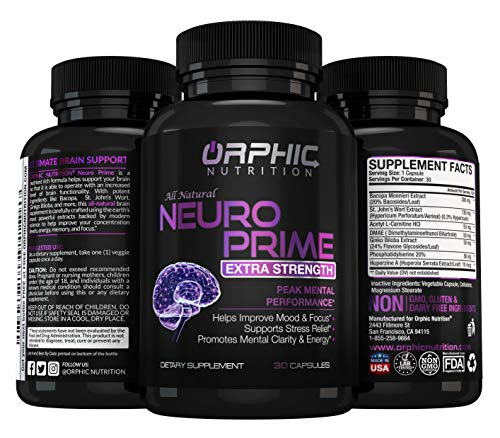 Neuro Prime Brain Booster Supplement product image