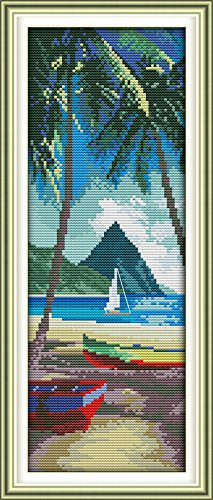 Happy Forever Cross Stitch, Exotic scenery, aegean island in Thailand - Aegean Islands