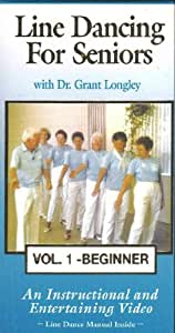 Line Dancing for Seniors: Special edition includes Volumes 1 & 2 [VHS]