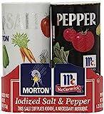 Morton's 4 oz. Salt and Mccormick 1.25 oz. Pepper