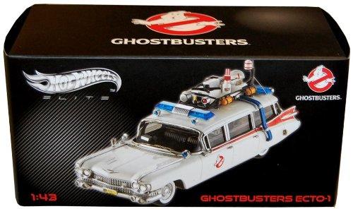 Ecto Edition Elite Ghostbuster Métal Fantômes Cadillac Sos 1 Hotwheels 1959 143 76ybgfYv