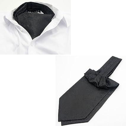 Amazon.com: LIANGJUN Silk Cravat - Pañuelo para hombre con ...