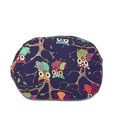 Bohemian Women Bags Prints Crossbody Blues Hobo Cotton Bags MIANZI Animal canvas Fashion Hand FxwnAq0