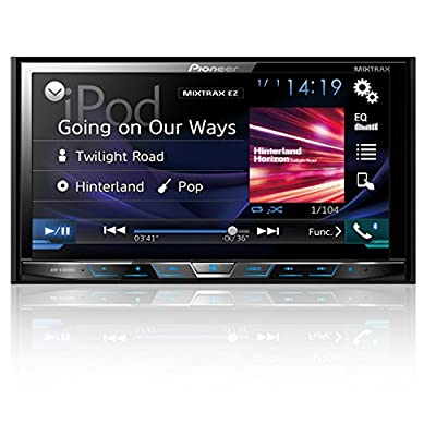 "Pioneer AVHX4800BS 2-DIN Receiver with 7"" Motorized Display/Built-In Bluetooth/Siri Eyes Free/AppRadio (Discontinued by Manufacturer): Car Electronics"