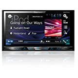 Pioneer AVH-X4800BS Double-DIN In-Dash DVD Receiver with Motorized Display, Bluetooth, Siri Eyes Free, Siriusxm Ready, 7""