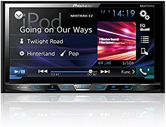 Pioneer AVHX4800BS 2-DIN Receiver with 7 Motorized Display Built-In Bluetooth Siri Eyes Free AppRadio One
