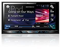 """Universal double din DVD/CD/am/FM/MP3/WMA/AAC/FLAC receiver with 7"""" motorized display, Built-in Bluetooth, Siri eyes free, siriusxm-ready, Spotify and AppRadio one (AVHX4800BS) by Pioneer. The Pioneer line of in-vehicle entertainment products..."""