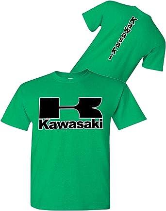 Kawasaki - Camiseta de Moto Irlandesa Verde - Streetbikes ...