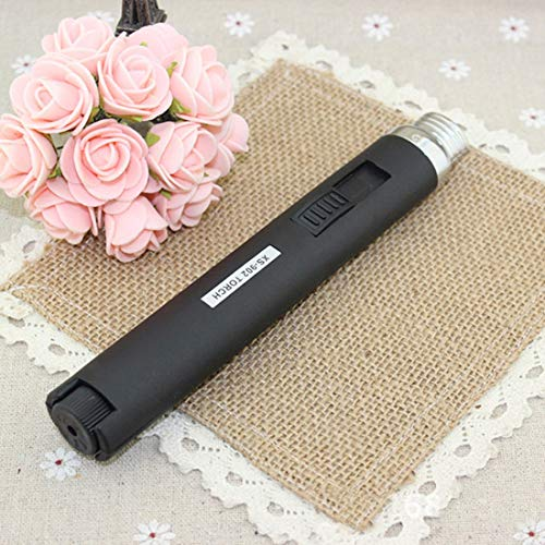ILLIO New Outdoor Lighter Jet Flame Butane Gas Refill Lighter Welding Soldering Torch Pen