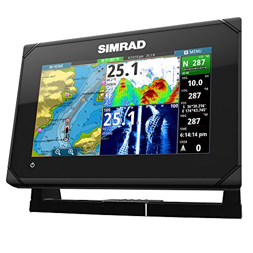 Simrad GO7 XSE 7'' Fishfinder/Chartplotter w/ Insight Mapping - No Transducer by Simrad