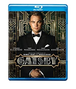 Cover Image for 'Great Gatsby, The (Blu-ray+DVD+UltraViolet Combo Pack)'