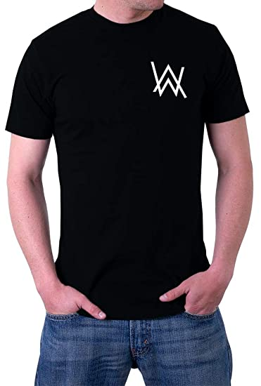 3a2bf53d4 Alan Walker AW Logo Faded Spectre Men's T-Shirt | Amazon.com