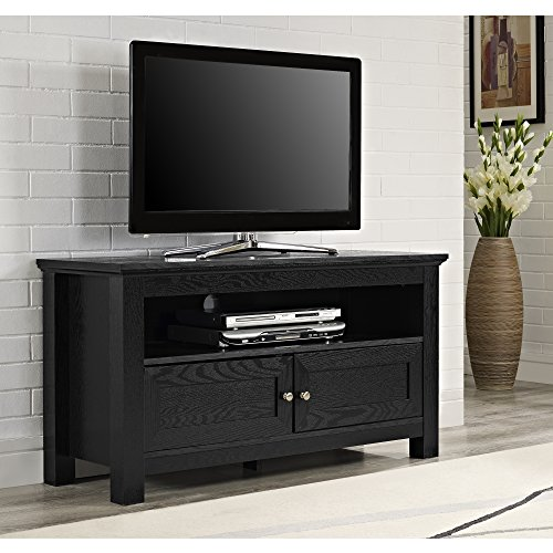 black tv stand with storage - 9