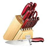 Hampton Forge, Argentum Red 14 Piece Cutlery Bock Set