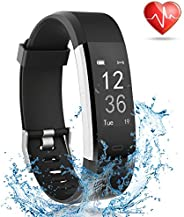 Fitness Tracker with Heart Rate Monitor, Smart Watch Activity Tracker Pedometer Sports Bracelet with Sleep Mon