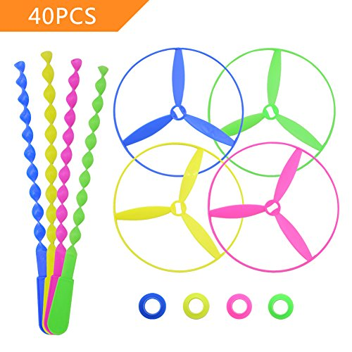 POPLAY Twisty String Saucers Helicopters product image