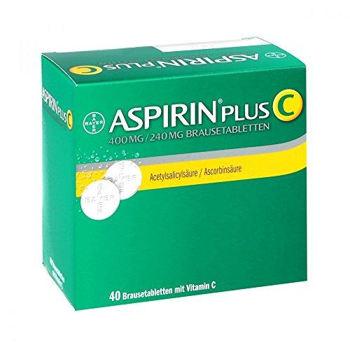 ASPIRIN plus C Brausetabletten, 40 St