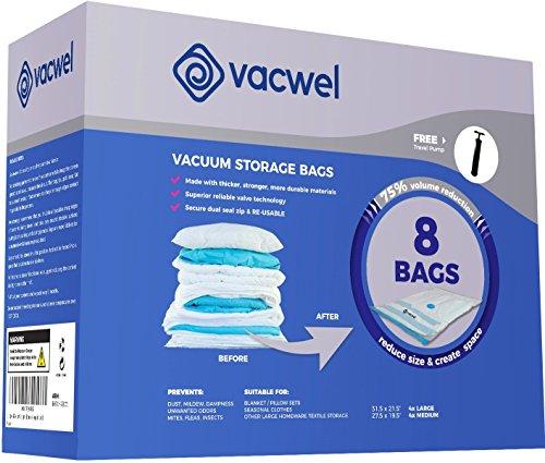 Vacwel Storage Clothes Ziplock Smaller product image