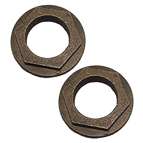 - 2 Pack of Steering Shaft Bushing for MTD 941-0656A RT 2 PK