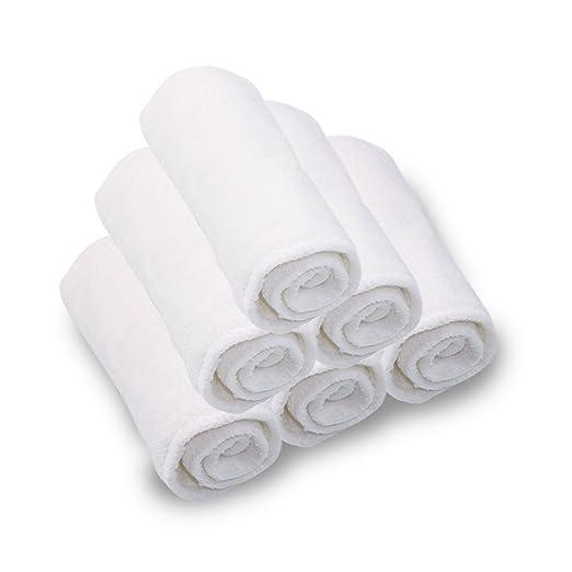 iZiv(TM) Bebé Pañal de Tela 3 Capas Reutilizable y de Fácil Uso Suave y Transpirable Insertos Súper Absorbentes de Agua 1pc: Amazon.es: Bebé
