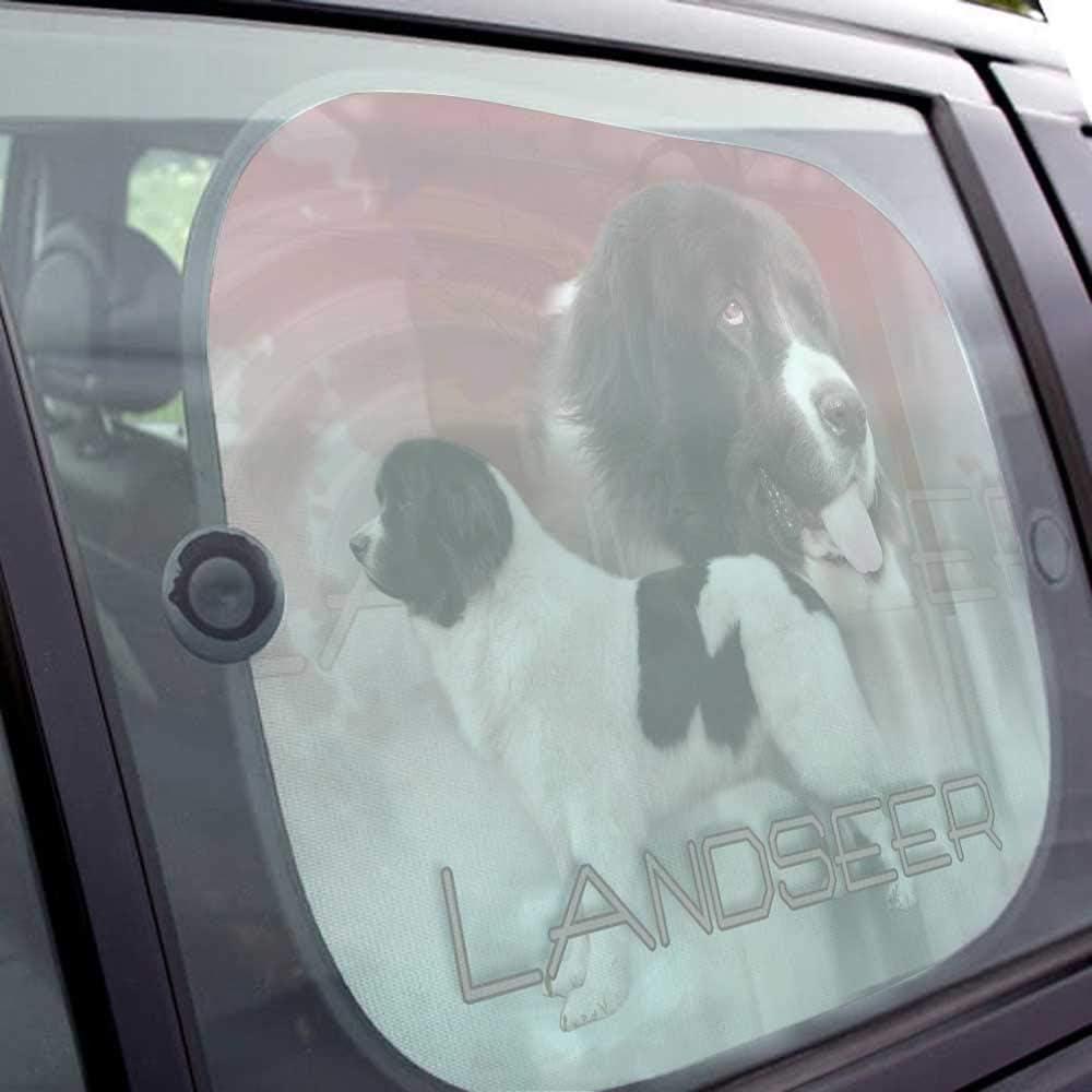 Pets-easy Pare Soleil Chien Voiture de Landseer