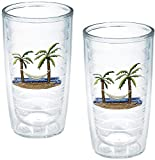 "TERVIS Tumbler, 16-Ounce, ""Palm Trees and"
