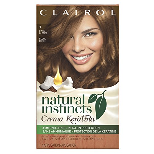 Clairol  Natural Instincts Crema Keratina Hair Color Kit, Da