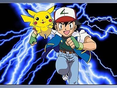 SDore Pokemon Pikachu Electric Shock Thunderbolt Edible 1/4 Sheet Image Frosting Cake Topper Sh. -