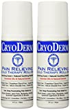 Cryoderm Pain Relieving Roll-on, 3oz. - 2 Count