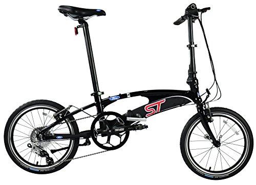 FORD BY DAHON Model ST High Performance speedy Shimano SRAM X-9 9-SPEED All Aluminum Alloy Folding Bike - 23 LB