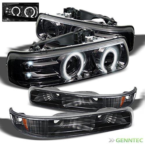 02 Chevrolet Silverado Halo Projector - 4