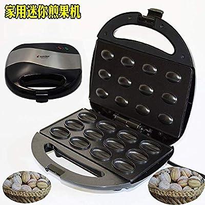 QIANLAI Electric Walnut Cake Maker Automatic Mini Nut Waffle Bread Machine Sandwich Iron Toaster Baking Breakfast Pan Oven EU Plug