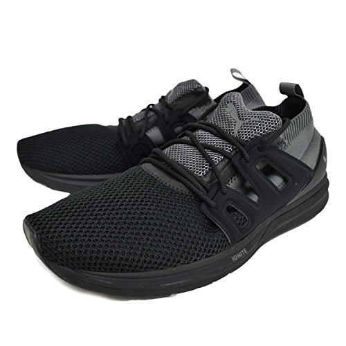 Puma - Zapatillas de nailon para hombre negro negro negro