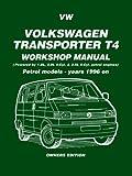 Volkswagen Transporter T4 Workshop Manual Petrol Models 1996-1999 by Brooklands Books Ltd (2006-02-01)