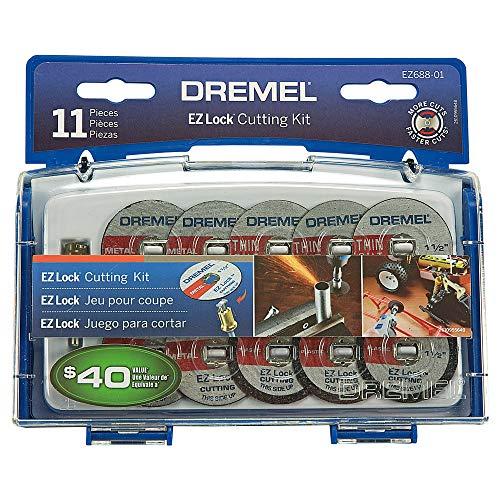 - Dremel EZ688-01 10 Piece Mini Cutting Kit