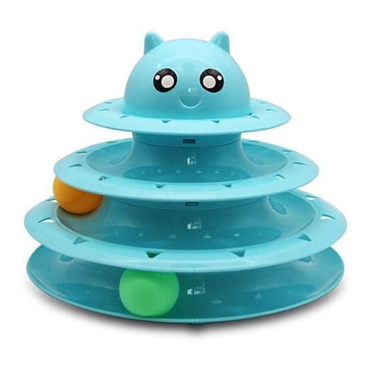 Juguetes interactivos para perros Gatos Roller Toy Súper divertido ...