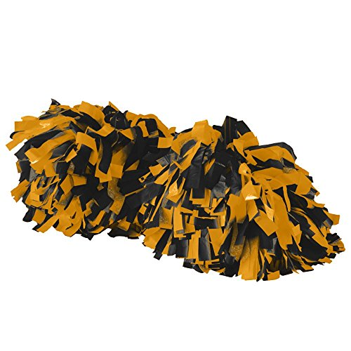 Augusta Sportswear SPIRIT POM OS (Black And Gold Pom Poms)