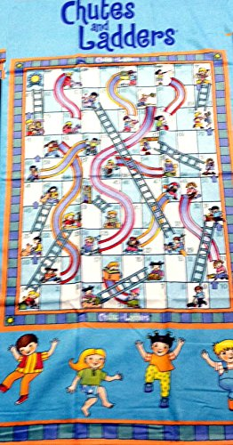 (Chutes & Ladders Beach Towel-100% Cotton)