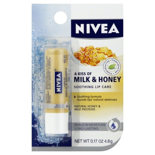 Nivea Lip Care, Milk & Honey