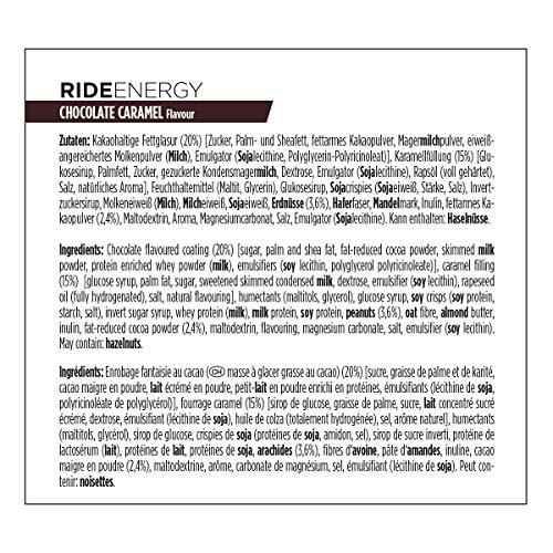 Powerbar Ride Bar Chocolate Caramel - 18 Barras: Amazon.es ...