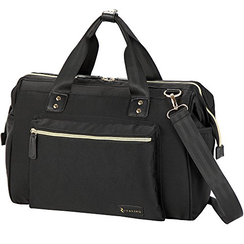 RUVALINO Diaper Bag Tote Stylish for Mom and Dad Convertible