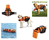 Deluxe Detachable Pillow Vest For Dogs-Water Safety Dog Flotation Life Vests