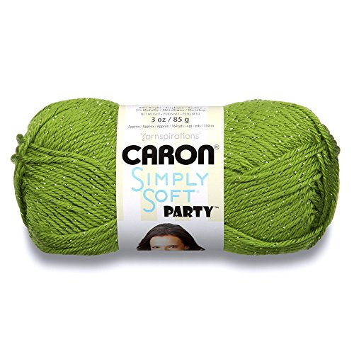 Caron H97PAR0003 Simply Soft Party Yarn - -4 Medium Worsted Gauge - 3 oz - Spring - For Crochet, Knitting & Crafting
