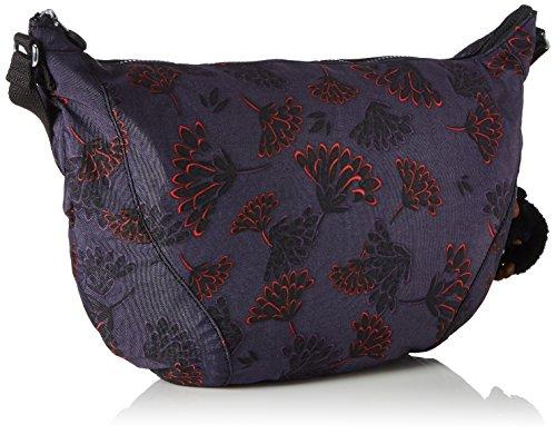 Nille bolsos y de Shoppers hombro Night Floral Mujer Varios Kipling Colores d6tEqd